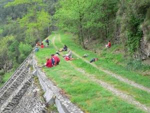Dessiner le paysage depuis l'ancien Céfédé