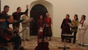 22 septembre 2012 concert au Temple l'Arbre au Festival Nature