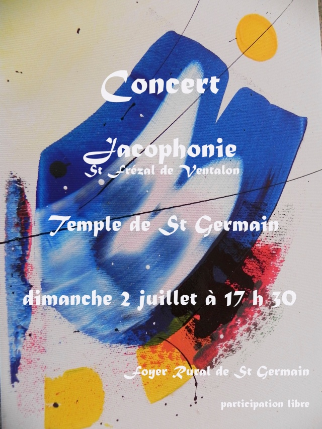 affiche jacof st germain