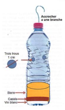 bouteille piège