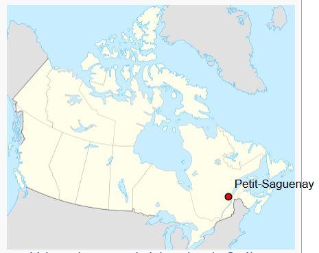 Carte Petit-Saguenay
