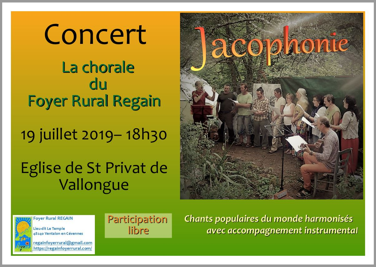 Affiche chorale SPV