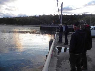 La rencontre avec d'anciens pêcheurs de morue